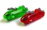 Машинка трубопроводным гонкам Chariots Speed Pipes 1 шт. красная/зеленая 1