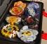 Набор 8в1 Beyblade BOX SB + Кейс с пусковыми устройствами 4