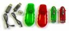 Машинка трубопроводным гонкам Chariots Speed Pipes 1 шт. красная/зеленая 2