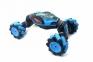 Радиоуправляемая машинка от движения руки Stunt Car + пульт, Синий 15