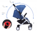 Детская коляска YOYA Plus Синяя 8