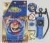 Набор 2в1 Beyblade Burst Cho Z Valkyrie Zenith Evolution B-127 (Бейблейд Волтраек В5) + Арена 35х35см 10