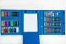 Набор для рисования Art Set с мольбертом в чемоданчике (176 предметов) Голубой 0