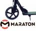 Самокат Maraton Fox Pro Черный + LED-фонарик 1