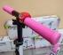 Детский самокат Maraton SPORT 145 Розовый + LED-фонарик 6