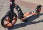Самокат Maraton Dynamic Disc (2021) + LED-фонарик Оранжевый  5