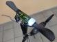 Самокат Maraton Decider (2020) + LED-фонарик Черный 14