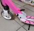 Детский самокат Maraton SPORT 145 Розовый + LED-фонарик 3