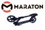 Самокат Maraton Fox Pro Черный + LED-фонарик 0