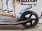 Детский самокат Maraton SPORT 145 Синий + LED-фонарик 4