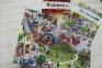 Книги в картинках Виммельбух комплект 3 в 1  (За городом, Однажды в городе, В цирке) 3