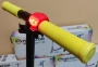 Детский самокат Maraton SPORT 145 Желтый + LED-фонарик 6