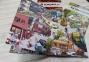 Книги в картинках Виммельбух комплект 3 в 1  (За городом, Однажды в городе, В цирке) 2