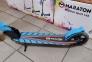 Детский самокат Maraton SPORT 145 Синий + LED-фонарик 5