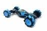 Радиоуправляемая машинка от движения руки Stunt Car + пульт, Синий 12