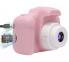 Детский фотоаппарат Camera X2 Розовый 8