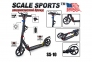 Самокат Scale Sports SS-10 Черный (USA)  6