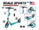 Самокат Scale Sports SS-10 Бирюзовый (USA)  6