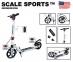 Самокат Scale Sports Elite Plus (ss-04) Белый 2