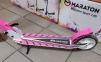 Детский самокат Maraton SPORT 145 Розовый + LED-фонарик 5