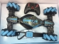 Радиоуправляемая машинка от движения руки Stunt Car + пульт, Синий 16