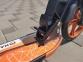 Самокат Maraton Dynamic Disc (2021) + LED-фонарик Оранжевый  2