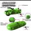 Машинка трубопроводным гонкам Chariots Speed Pipes 1 шт. красная/зеленая 3
