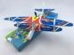 Самолет с моторчиком Goods4u, метательный планер Aircraft с пропеллером 6