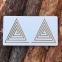 Межполушарные доски ламинированные, набор 4в1 Goods4u (WB) Треугольник, Улитка, Многоугольник, Мозг 2