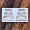 Межполушарные доски ламинированные, набор 4в1 Goods4u (WB) Трапеция, Круг, Квадрат, Полосы 3