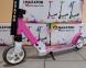Детский самокат Maraton SPORT 145 Розовый + LED-фонарик 1