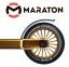 Трюковый самокат Maraton PowerSlide Золотой  1