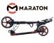Самокат Maraton Dynamic Disc (2021) + LED-фонарик Оранжевый  8