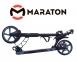Самокат Maraton Dynamic Disc (2021) + LED-фонарик Черный 9