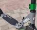 Самокат Maraton Phonix Disc Серый + LED-фонарик 31