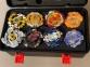 Набор 8в1 Beyblade BOX SB + Кейс с пусковыми устройствами 0