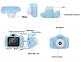 Детский фотоаппарат Camera X2 Синий 4