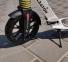 Самокат Maraton GMC Disc + LED-фонарик (2020) Белый 9