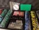 Покерный набор PokerStars 500 фишек, 2 колоды пластиковых  карт в кейсе 0