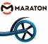Самокат Maraton Air Max Синий + LED-фонарик (2021) 3