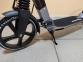 Самокат Maraton Strider Серый + LED-фонарик 3