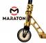 Трюковый самокат Maraton PowerSlide Золотой  2
