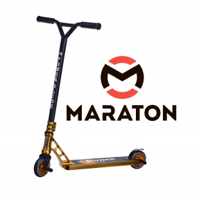 Трюковый самокат Maraton PowerSlide Золотой