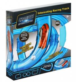 Гоночный трек трубопроводные гонки Chariots Speed Pipes 210 см 27 деталей