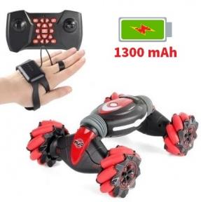 Машинка Stunt Car с управлением от руки + пульт Красная (RQ2071)