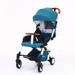 Детская коляска YOYA care 2018 Изумруд  белая/черная рама