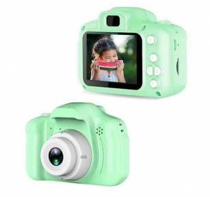 Детский фотоаппарат Camera X2 Зеленый