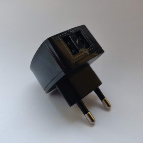 Сетевое зарядное устройство + кабель StatusACSE 12W MY-A227 (2,4 А) Black
