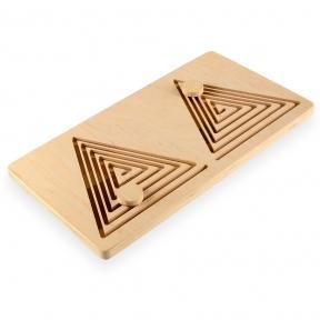 Межполушарная доска Goods4u (WB) Треугольник 20х35см