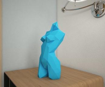 Бумажная модель 3Decor Papercraft Женщина (84)